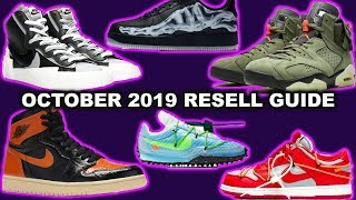 Sneakers To Resell October 2019 | Hyped Sneaker Releases October 2019 💰💰💰