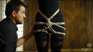 Ханшова оплетка за шибари / Hip harness for shibari