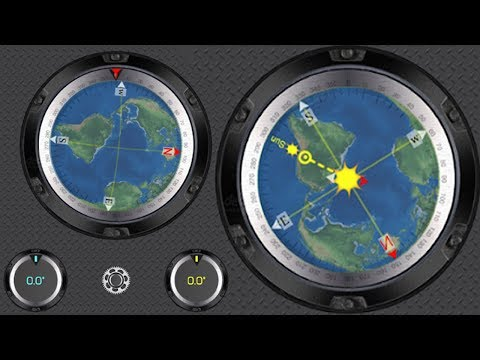 Compass For All Phones   With Or Without Magnetic Sensor