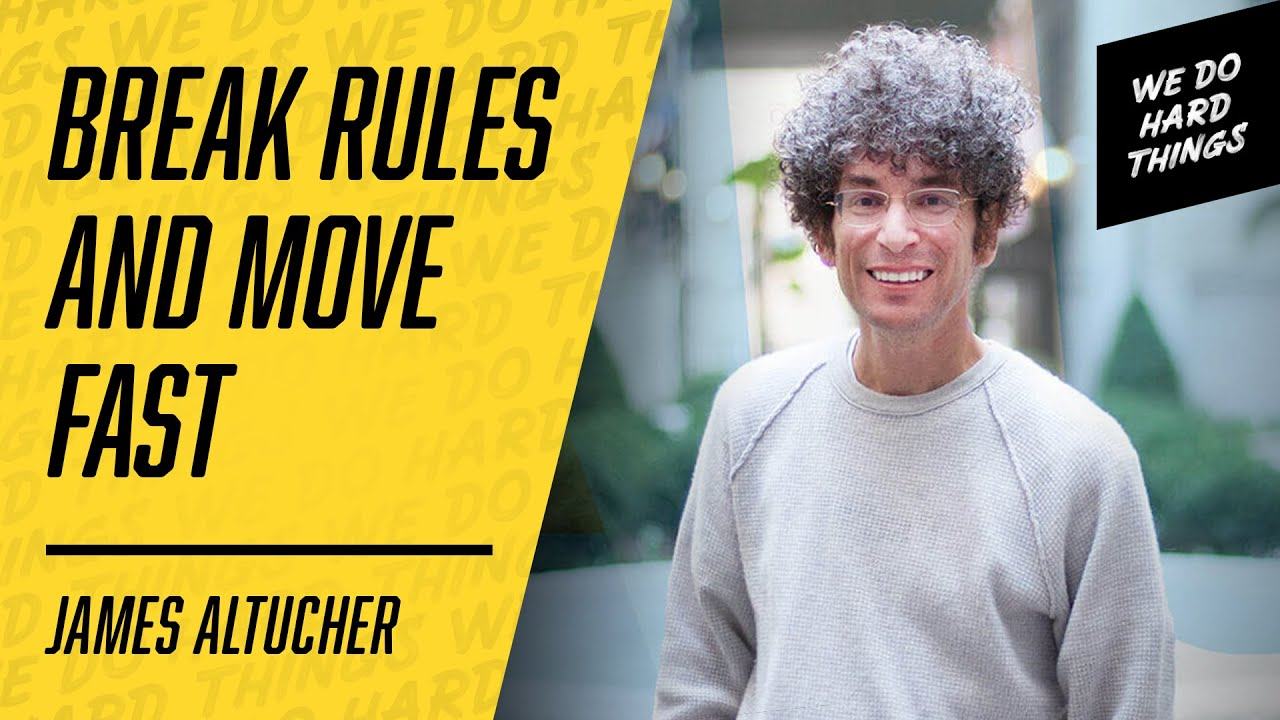 Experiment With Failure For RAPID GROWTH | James Altucher on The We Do Hard Things Podcast