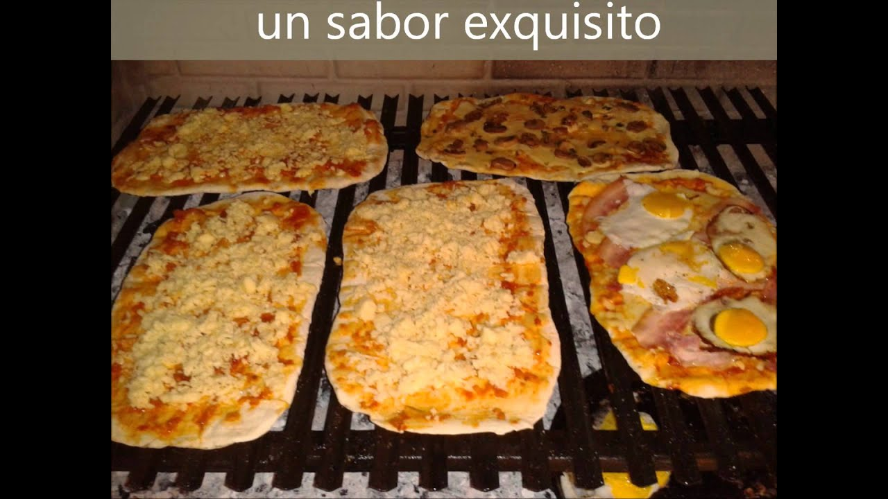Pizzas a la parrilla en bahia blanca un sabor exquisito for En 3 pizzas te olvido
