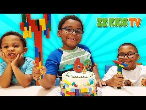 Happy Birthday Goo Goo Gaga! (ZZ Kids Family Travels To Lego Land)