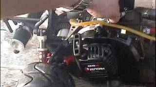 rodage zenoah G240 RC à Hanvec
