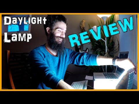 DAYLIGHT LAMP REVIEW   BEURER TL40   FOR THE NORWEGIAN WINTER