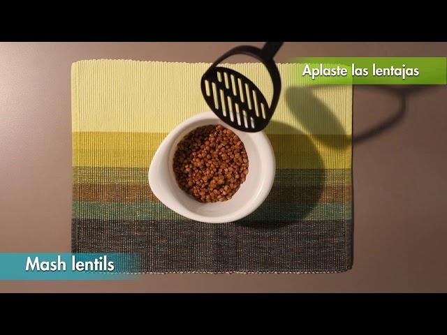 Crispy Lentil Meatballs / Albóndigas de Lentejas Crujientes