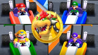Mario Party The Top 100 MiniGames - Mario Vs Wario Vs Luigi Vs Waluigi (Master Cpu)