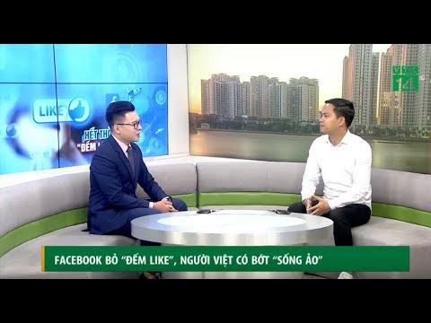 """[PA Marketing] Facebook bỏ """" đếm like"""", người Việt có bớt """"sống ảo"""" [Thầy Phan Anh cùng VTC 14]"""