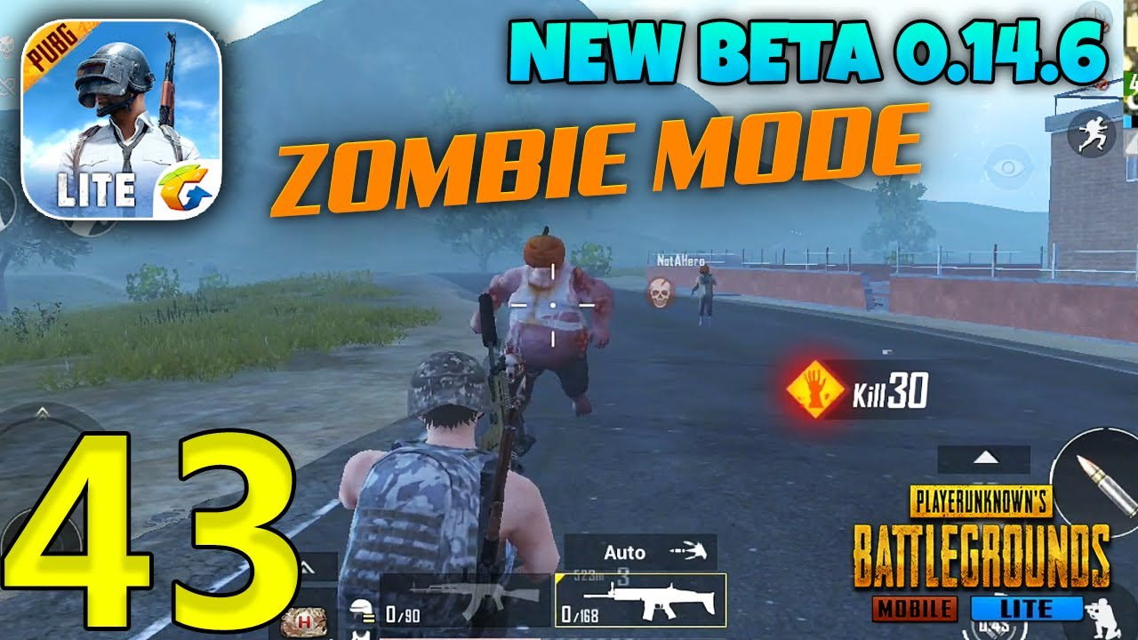 PUBG MOBILE LITE - Update 0.14.6 Zombie Mode Gameplay - Part 43