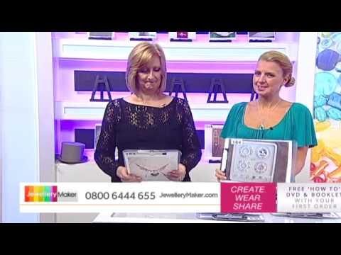 Screen Print Launch & Tanzanite - JewelleryMaker LIVE 20/09/14
