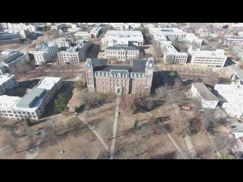 University of Arkansas | Downtown Fayetteville, AR | 4k