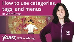 How to use categories, tags, and menus in WordPress | WordPress for beginners