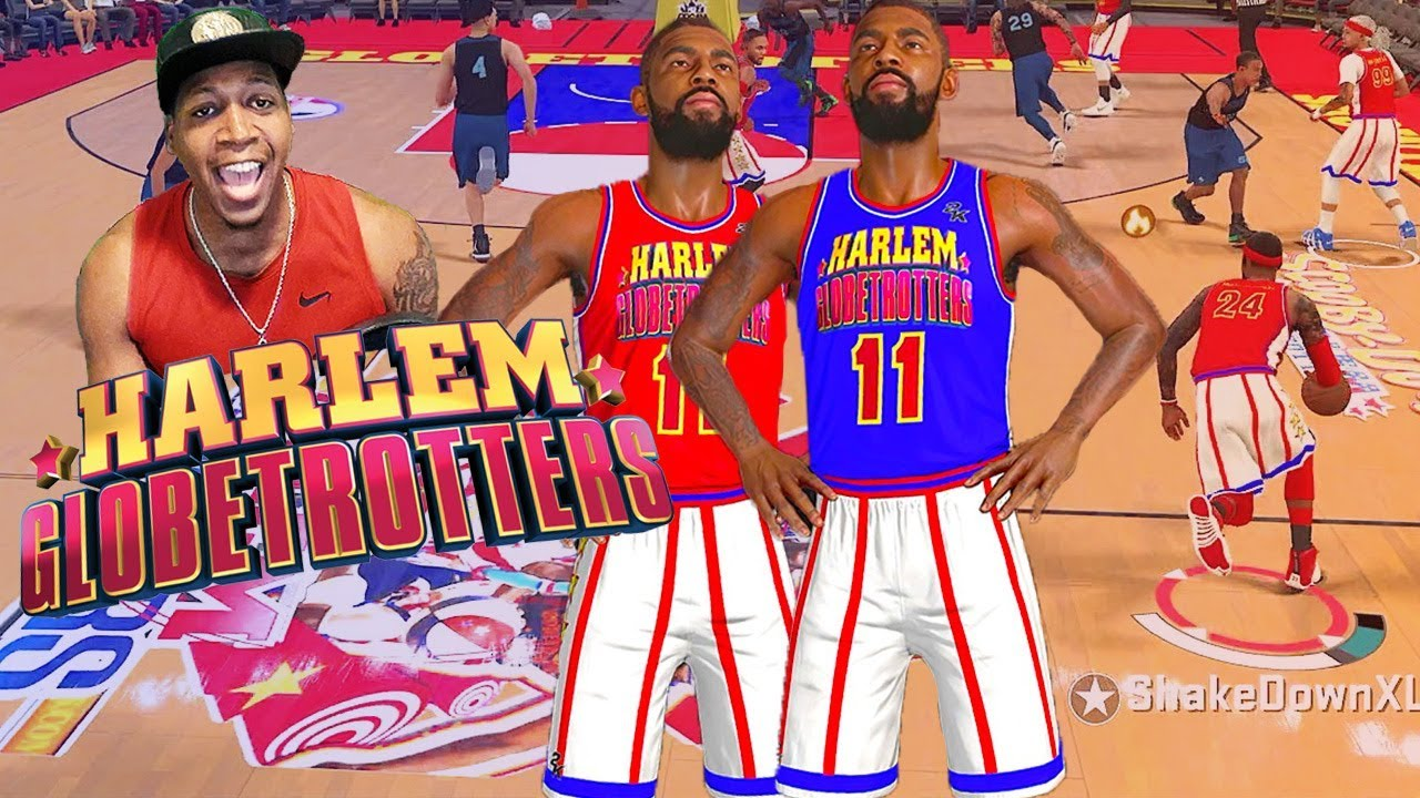 HARLEM Globetrotters RETURN! LeBron At The Point - NBA 2K18 Park & Pro Am