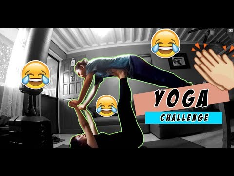 YOGA CHALLENGE! Did we really succeed?! | with Aubrey
