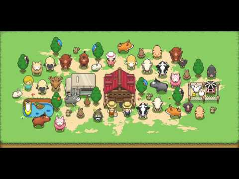 【Tiny Pixel Farm / 作ろう!ミニチュア牧場】 PV - Let's relaxing life with animals -