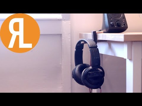 DIY Simple Headphone Holder | Woodworking