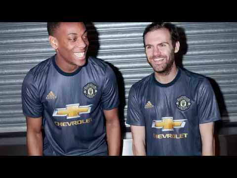 62700a5ee Adidas - Manchester United 18 19 Third Kit - Behind the Scenes - YouTube