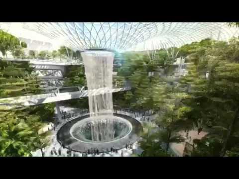 singapore changi air ports new terminal