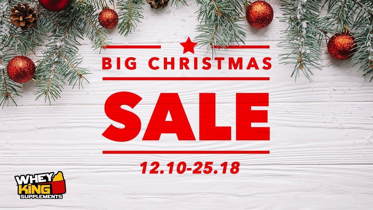 Whey King Christmas Sale 2018