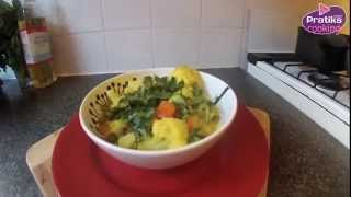 Cooking - How to cook vegetable curry