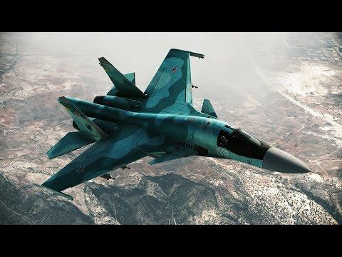 Красивейшая Игра про Современные Военные Самолеты России и США ! ВВС в Tom Clancys HAWX