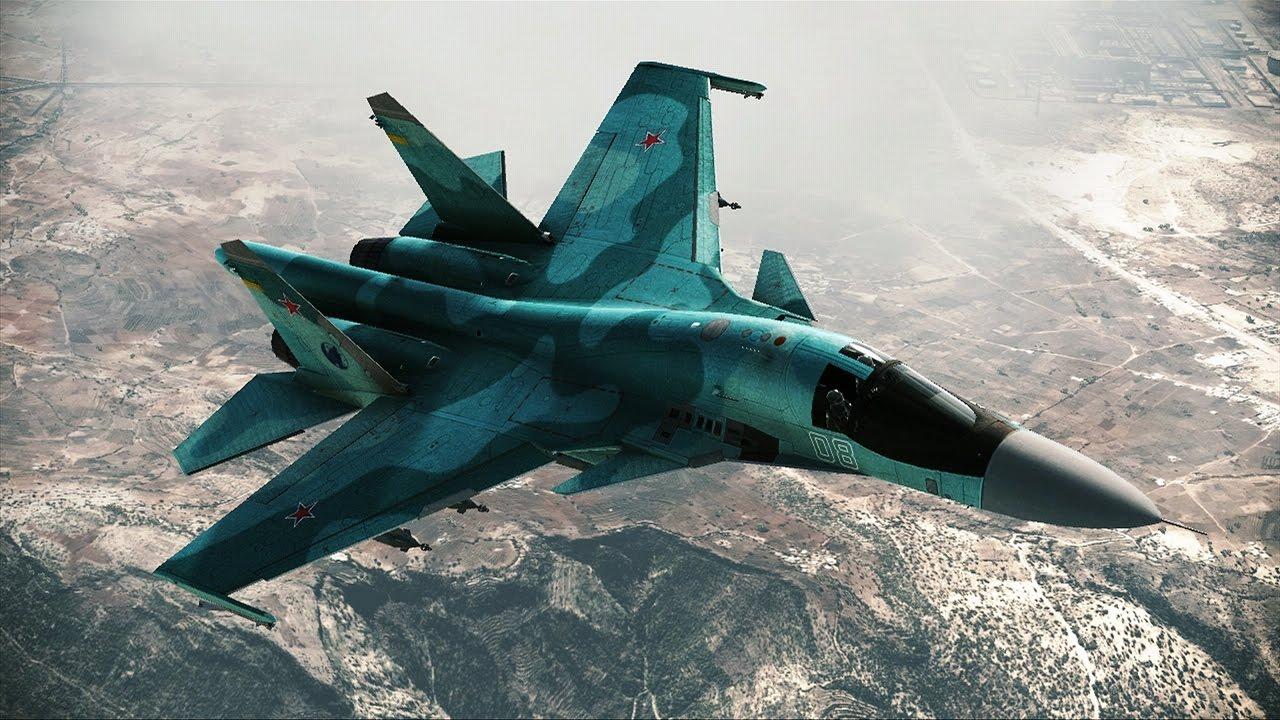 Красивейшая Игра про Современные Военные Самолеты России и ...