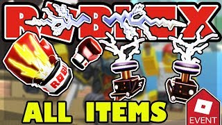 [EVENT] HOW TO GET ALL ITEMS IN THE ROBLOX POWER EVENT 2019 - POWER EYES, PAULDRONS AND GLOVES