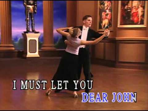 Karaoke - A Dear John Letter (Foxtrot)