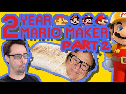Mario Maker  Bowser Chase, Ghost Puzzle, and Hydro Headbut   Anniversary Levels 2