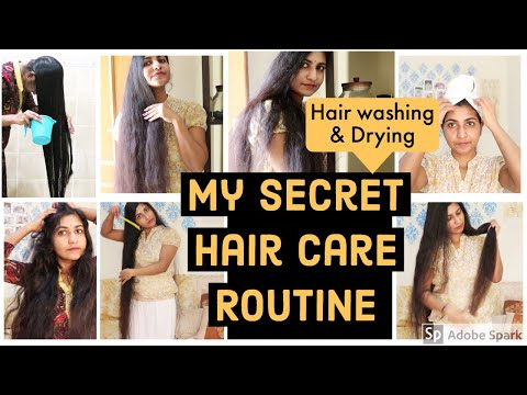 My Simple & Effective Hair Care Routine For Long Hair |Hair Washing Secrets & Drying