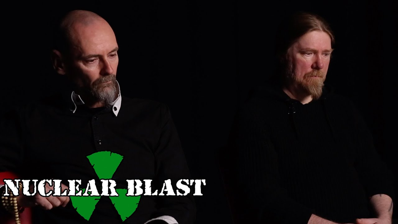 MY DYING BRIDE — Aaron and Andrew on the new album title and artwork (OFFICIAL TRAILER)