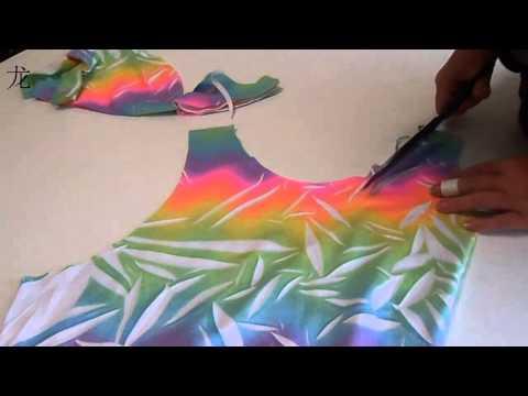 как сшить майку из футболки