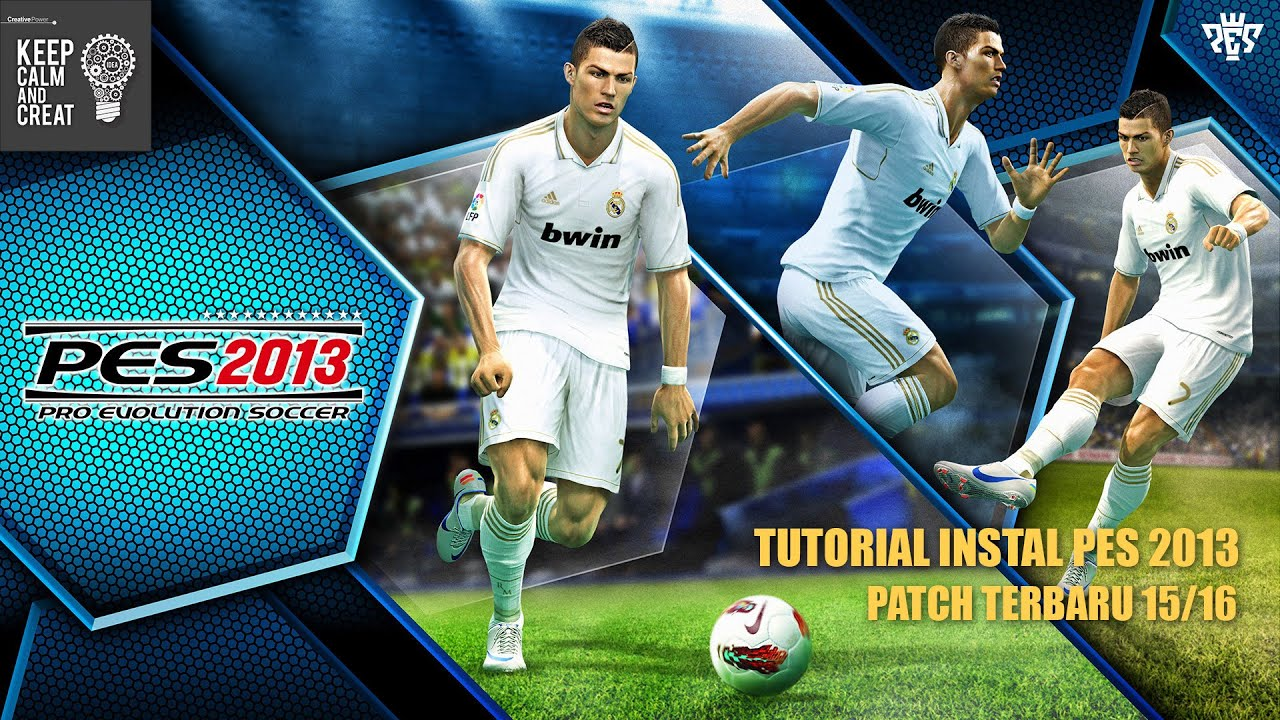 Tutorial Instal Pes 2013 Patch Terbaru 20152016 Full Download Youtube