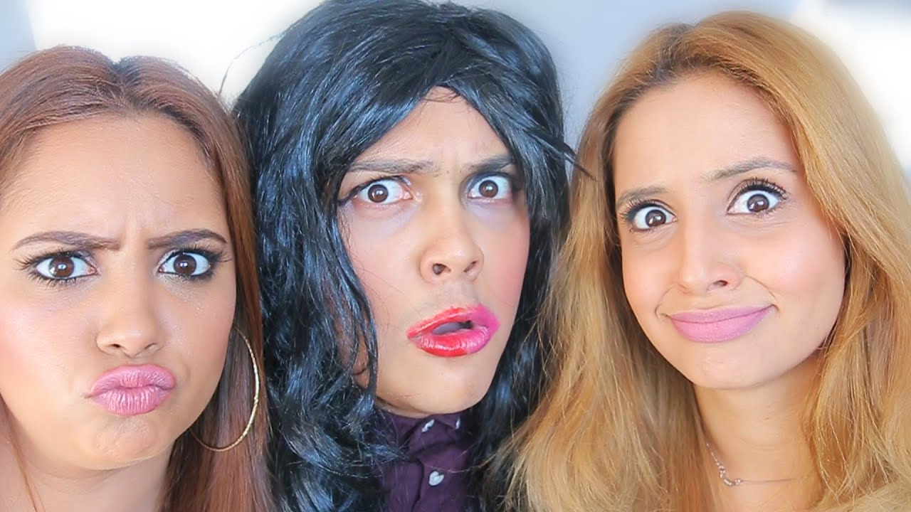 Makeup challenges