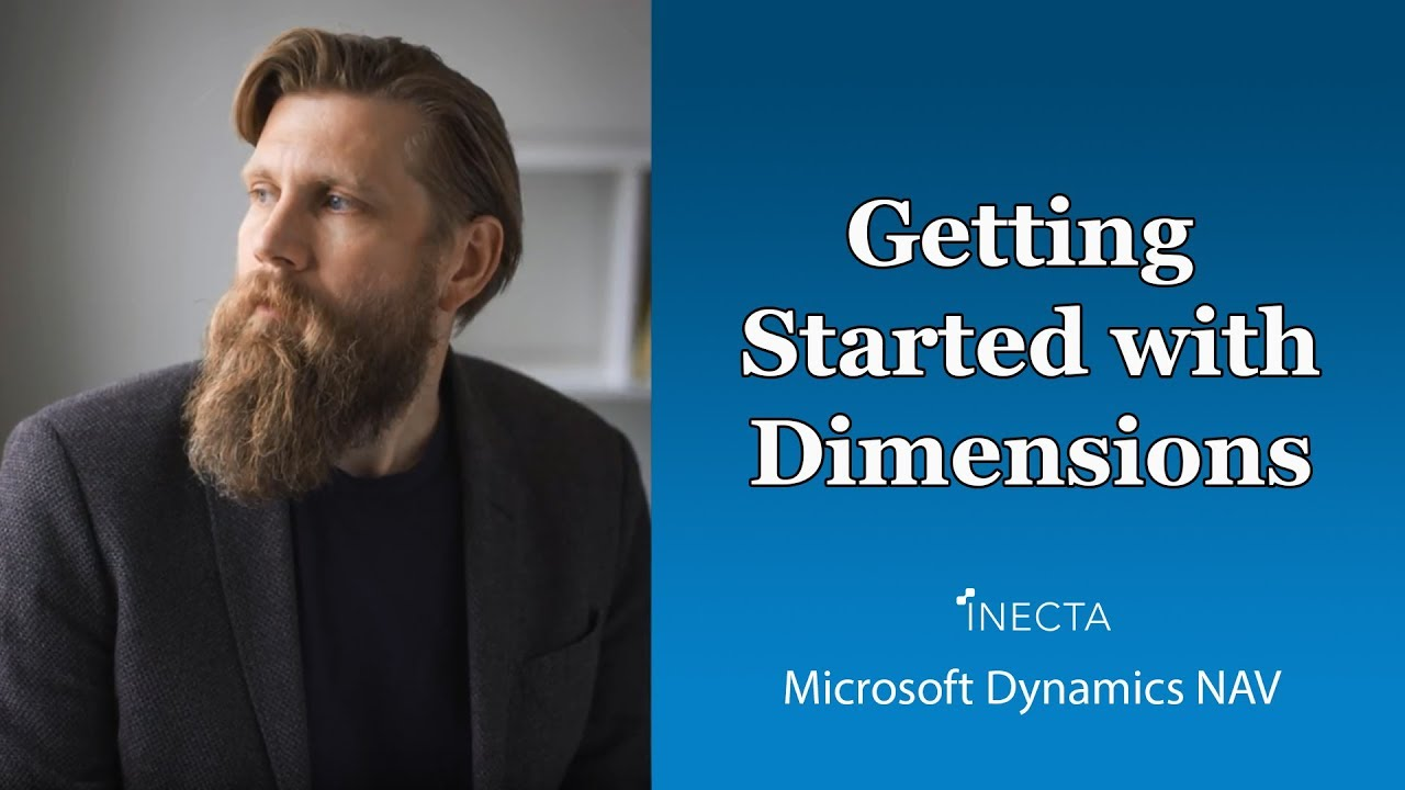 Getting Started with Dimensions in Microsoft Dynamics NAV