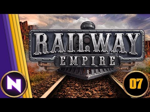 Lets Play Railway Empire - Chapter 3 OVER THE MISSISSIPPI - Part 2