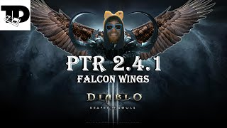 on eagle s wings   falcon s wings cosmetic   diablo 3 ptr   patch 2 4 1   diablo 3 patch 2 4 1