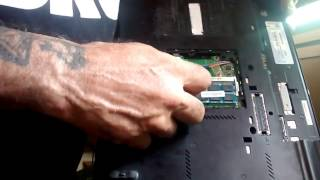 How to Change the DDR Ram in a T410 Thinkpad