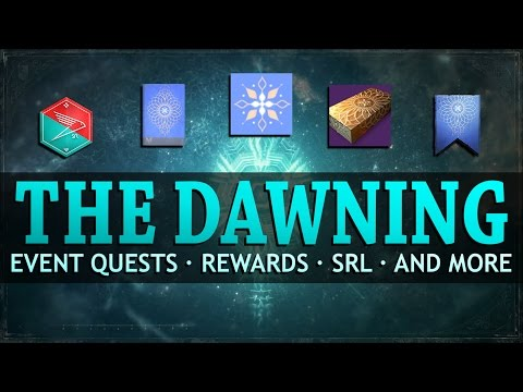 Destiny - The Dawning - Event Quests, Rewards, New Items