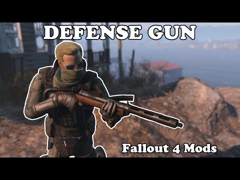 Fallout 4 Mods - Defense Gun