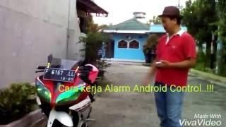 Aplikasi Android untuk menghidupkan Motor