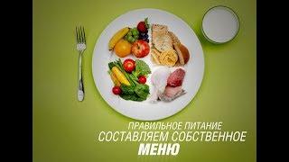 Правильное питание  Составляем собственное меню для похудения