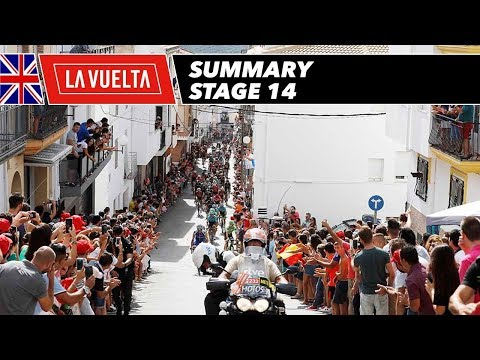 Summary - Stage 14 - La Vuelta 2017