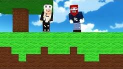 Minecraft aber alles ist aus Wolle!