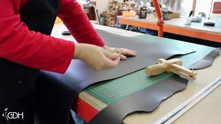 Cutting A Leather Strap