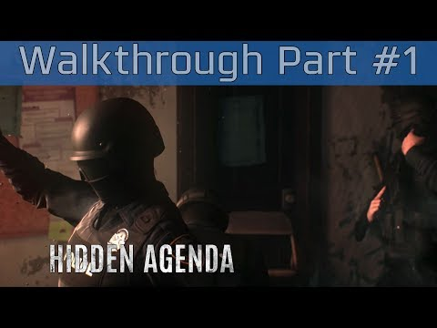 Hidden Agenda - Walkthrough Part #1 [HD 1080P]