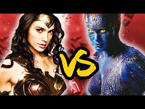 Wonder Woman VS Mystique | Justice League versus X-men [Superhero Showdown]