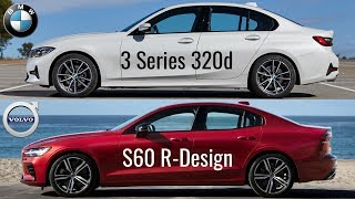 2019 BMW 3 series G20 vs Volvo S60