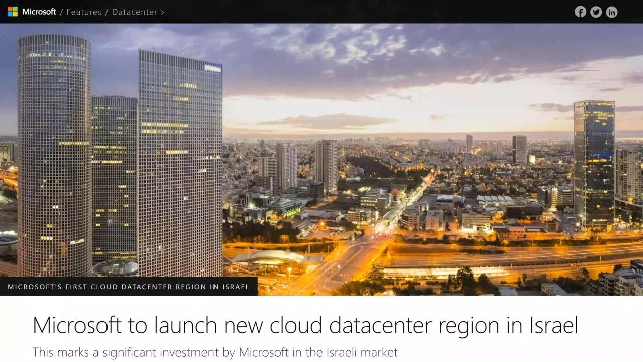 Connect with Microsoft Israel and the local dev community (Hebrew) | COM171