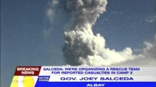 Albay gov bans activity near Mayon
