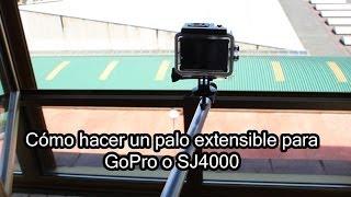 Cómo hacer un palo extensible para GoPro o SJ4000